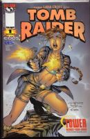 Tomb Raider #1 - Holofoil - Variant Cover - Tower Records Exclusive